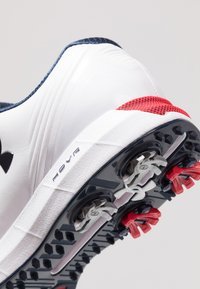 Under Armour - HOVR DRIVE E - Golfschuh - white/red/academy - 5
