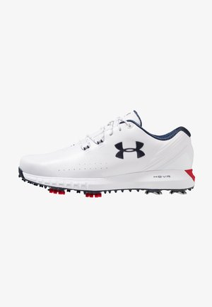 HOVR DRIVE E - Chaussures de golf - white/red/academy