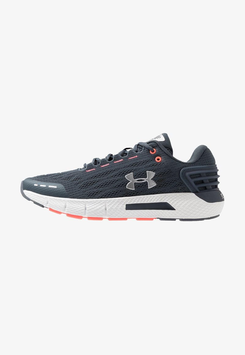 Under Armour - CHARGED ROGUE - Neutral running shoes - wire/reflective