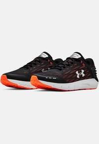 Under Armour - CHARGED ROGUE - Neutral running shoes - black - 2