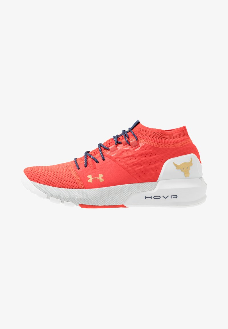 Under Armour - PROJECT ROCK 2 - Trainings-/Fitnessschuh - anthem red/halo gray/metallic gold