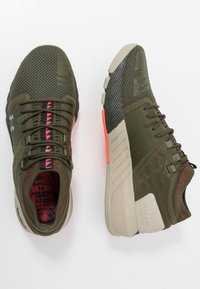 Under Armour - PROJECT ROCK 2 - Kuntoilukengät - guardian green/sandy brown/black - 1