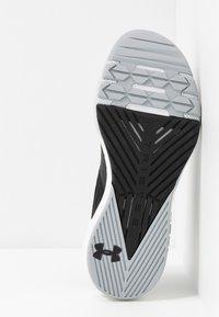 Under Armour - PROJECT ROCK 2 - Zapatillas de entrenamiento - black/white - 4