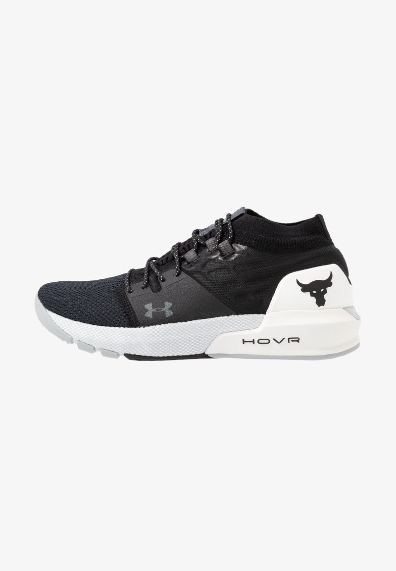 Under Armour - PROJECT ROCK 2 - Scarpe da fitness - black/white