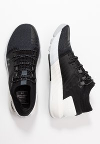 Under Armour - PROJECT ROCK 2 - Trainings-/Fitnessschuh - black/white - 1