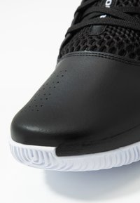 Under Armour - Basketbalschoenen - black/white - 5