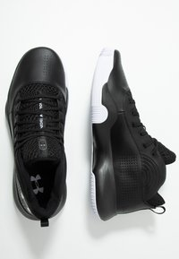 Under Armour - Basketbalschoenen - black/white - 1