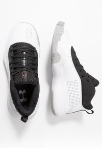 Under Armour - Indoorskor - black/white - 1