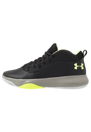 LOCKDOWN 4 - Basketbalové boty - black/gravity green/x-ray