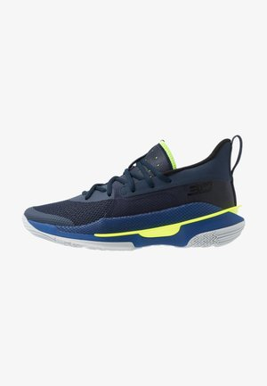 CURRY 7 - Basketbalové boty - light blue