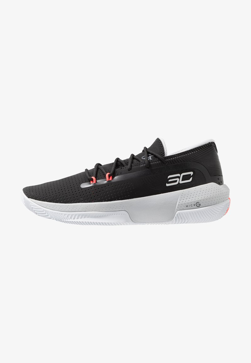 Under Armour - SC 3ZER0 III - Basketball shoes - black/mod gray/halo gray