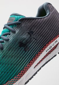 Under Armour - HOVR VELOCITI 2 - Neutral running shoes - wire/teal rush - 5