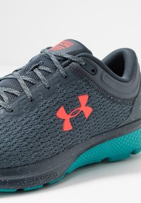Under Armour - CHARGED ESCAPE 3 - Neutral running shoes - wire/teal rush/beta red - 5