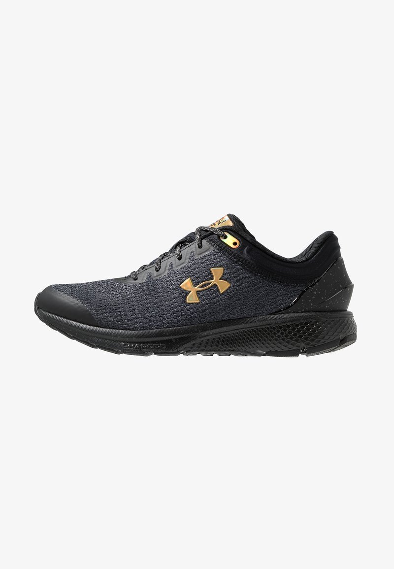 Under Armour - CHARGED ESCAPE 3 - Laufschuh Neutral - black/gold