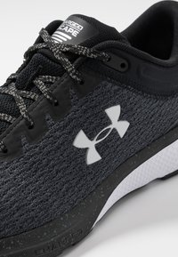 Under Armour - CHARGED ESCAPE 3 - Chaussures de running neutres - black/white/metallic silver - 5
