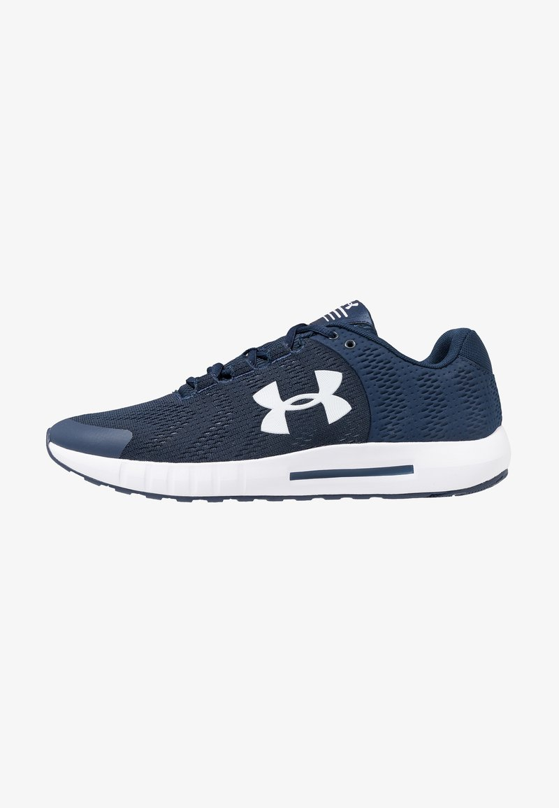 Under Armour - MICRO G PURSUIT - Neutral running shoes - academy/white