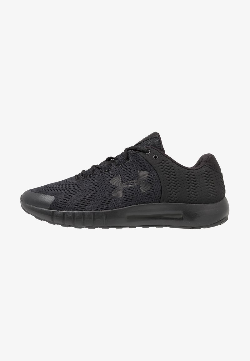 Under Armour - MICRO G PURSUIT - Neutral running shoes - black