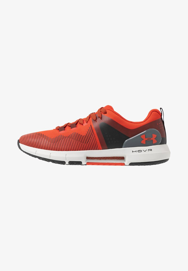 Under Armour - HOVR RISE - Treningssko - martian red/gray flux