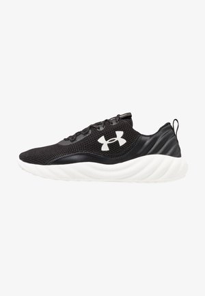 CHARGED WILL - Neutral running shoes - black/white