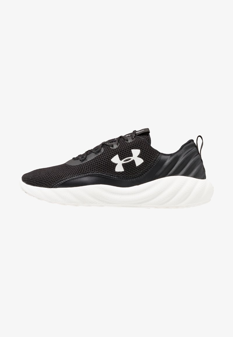 Under Armour - CHARGED WILL - Neutral running shoes - black/white