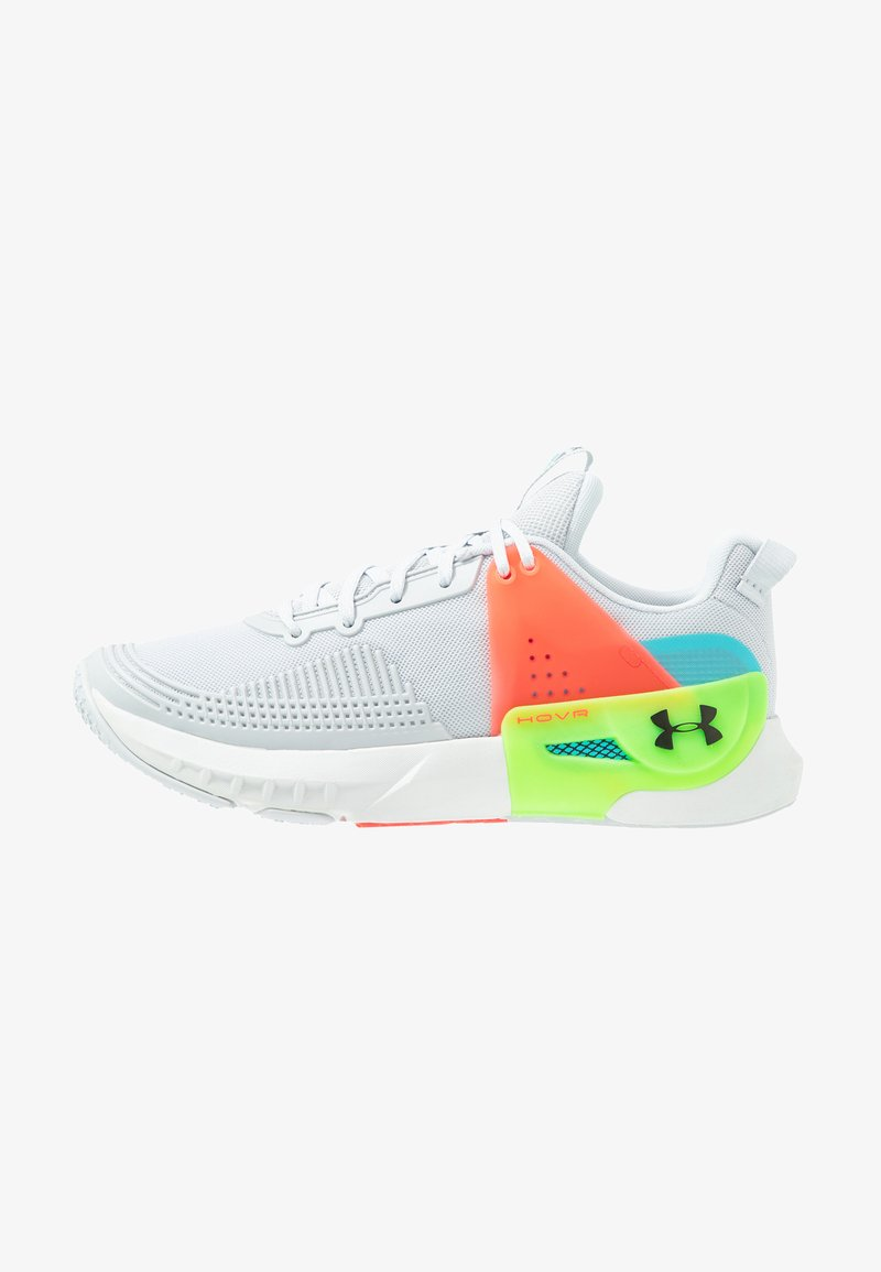Under Armour - HOVR APEX - Sports shoes - halo gray/black