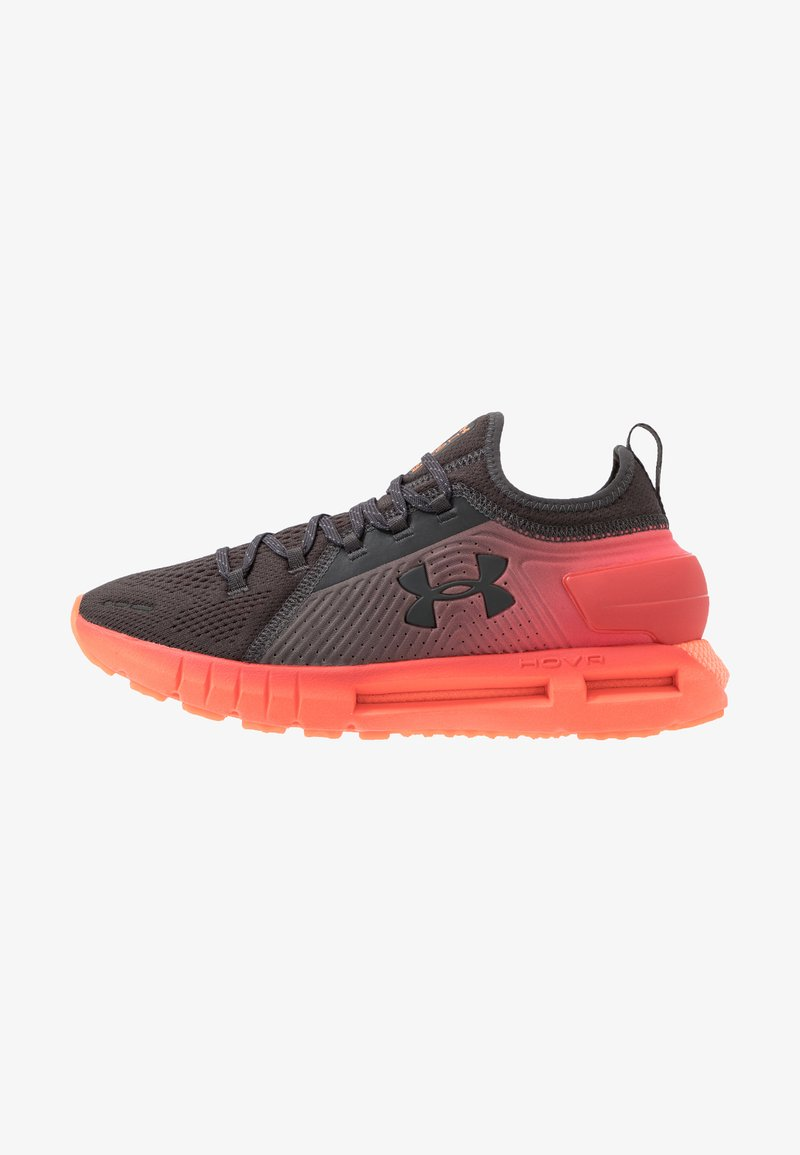 Under Armour - HOVR PHANTOM SE GLOW - Nøytrale løpesko - jet gray/daiquiri