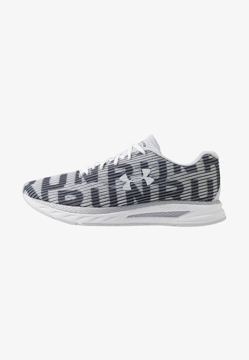 Under Armour - HOVR VELOCITI 2 RUN - Neutral running shoes - white/halo gray