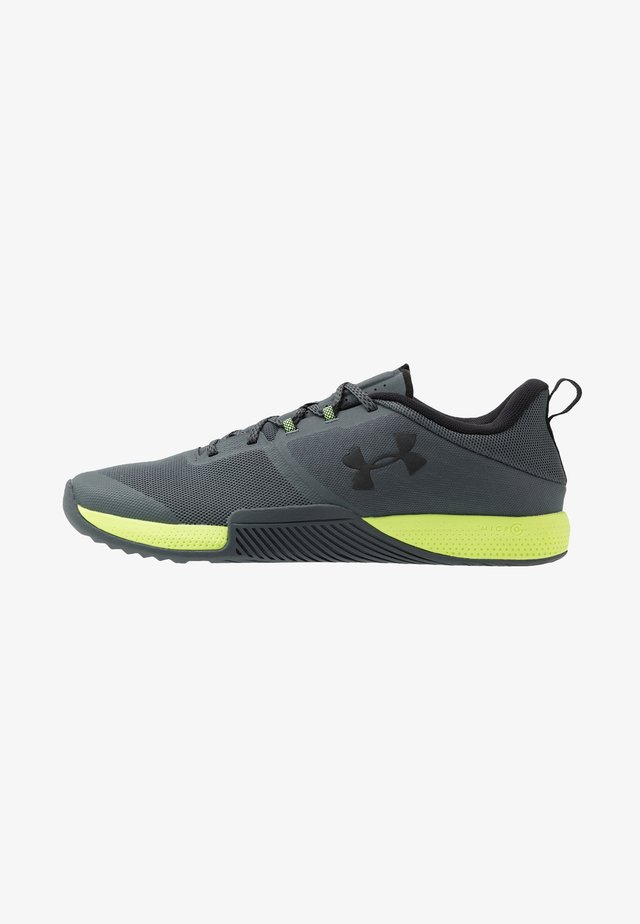 TRIBASE THRIVE - Chaussures d'entraînement et de fitness - pitch gray/x-ray/black