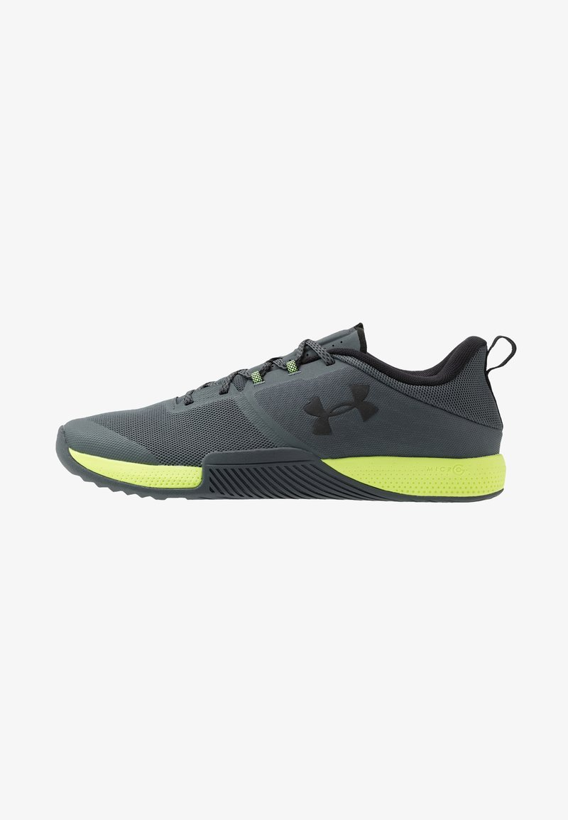 Under Armour - TRIBASE THRIVE - Obuwie treningowe - pitch gray/x-ray/black