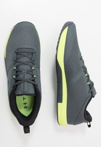 Under Armour - TRIBASE THRIVE - Obuwie treningowe - pitch gray/x-ray/black - 1