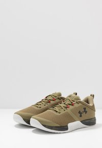 Under Armour - TRIBASE THRIVE - Træningssko - olive - 2