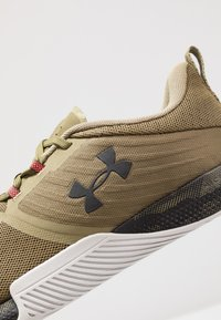 Under Armour - TRIBASE THRIVE - Træningssko - olive - 5