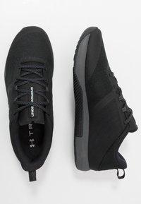 Under Armour - TRIBASE THRIVE - Sportschoenen - black/pitch gray/halo gray - 1