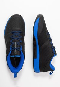 Under Armour - TRIBASE THRIVE - Scarpe da fitness - black/versa blue/pitch gray - 1