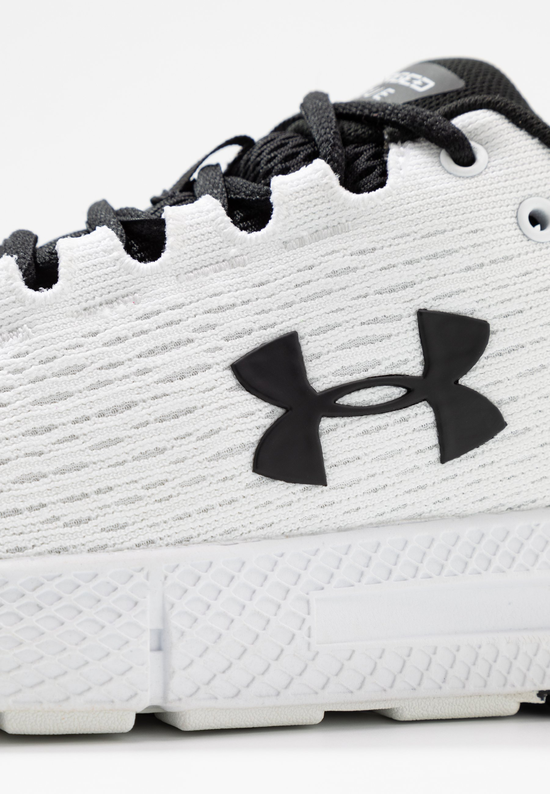 Under Armour CHARGED ROGUE 2 - Obuwie do biegania treningowe - white/black