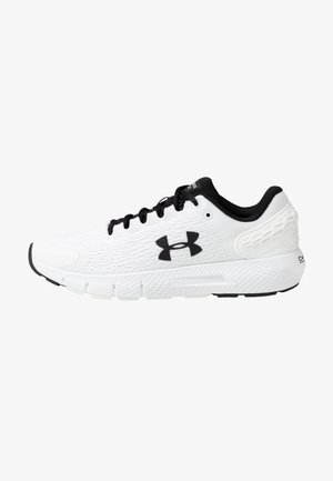 CHARGED ROGUE 2 - Chaussures de running neutres - white/black