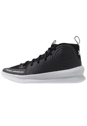 UA JET - Zapatillas de baloncesto - black / halo gray / halo gray