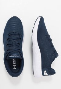 Under Armour - CHARGED PURSUIT 2 - Hardloopschoenen neutraal - academy/white - 1