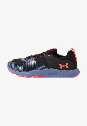 CHARGED ENGAGE - Neutral running shoes - black/hushed blue/beta