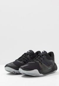 Under Armour - SPAWN 2 - Chaussures de basket - black/pitch gray - 2