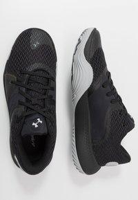Under Armour - SPAWN 2 - Chaussures de basket - black/pitch gray - 1