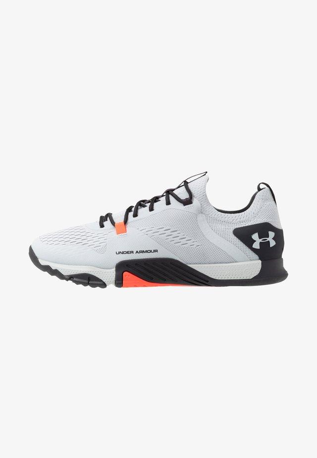 TRIBASE REIGN  - Sports shoes - halo gray/blackout purple