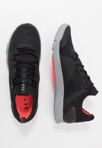 Under Armour - TRIBASE REIGN 2 - Sports shoes - black/steel/halo gray - 1