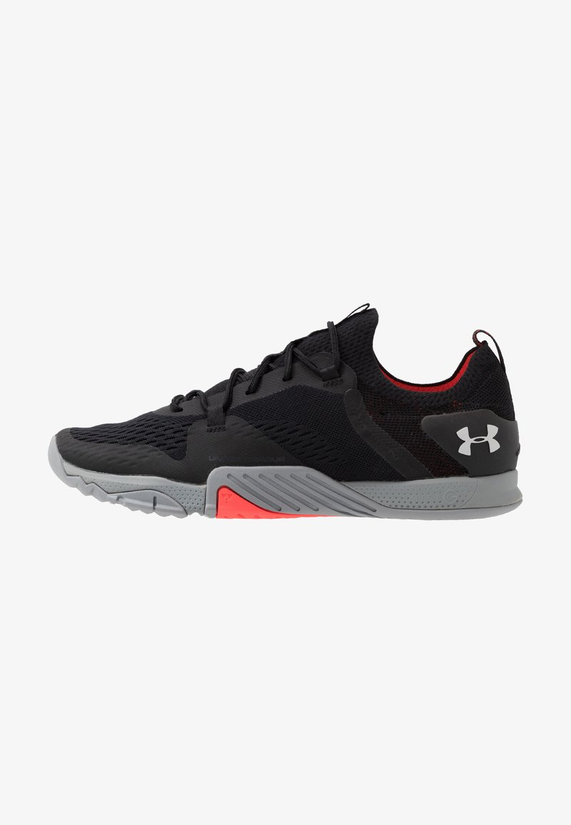 Under Armour - TRIBASE REIGN 2 - Sports shoes - black/steel/halo gray