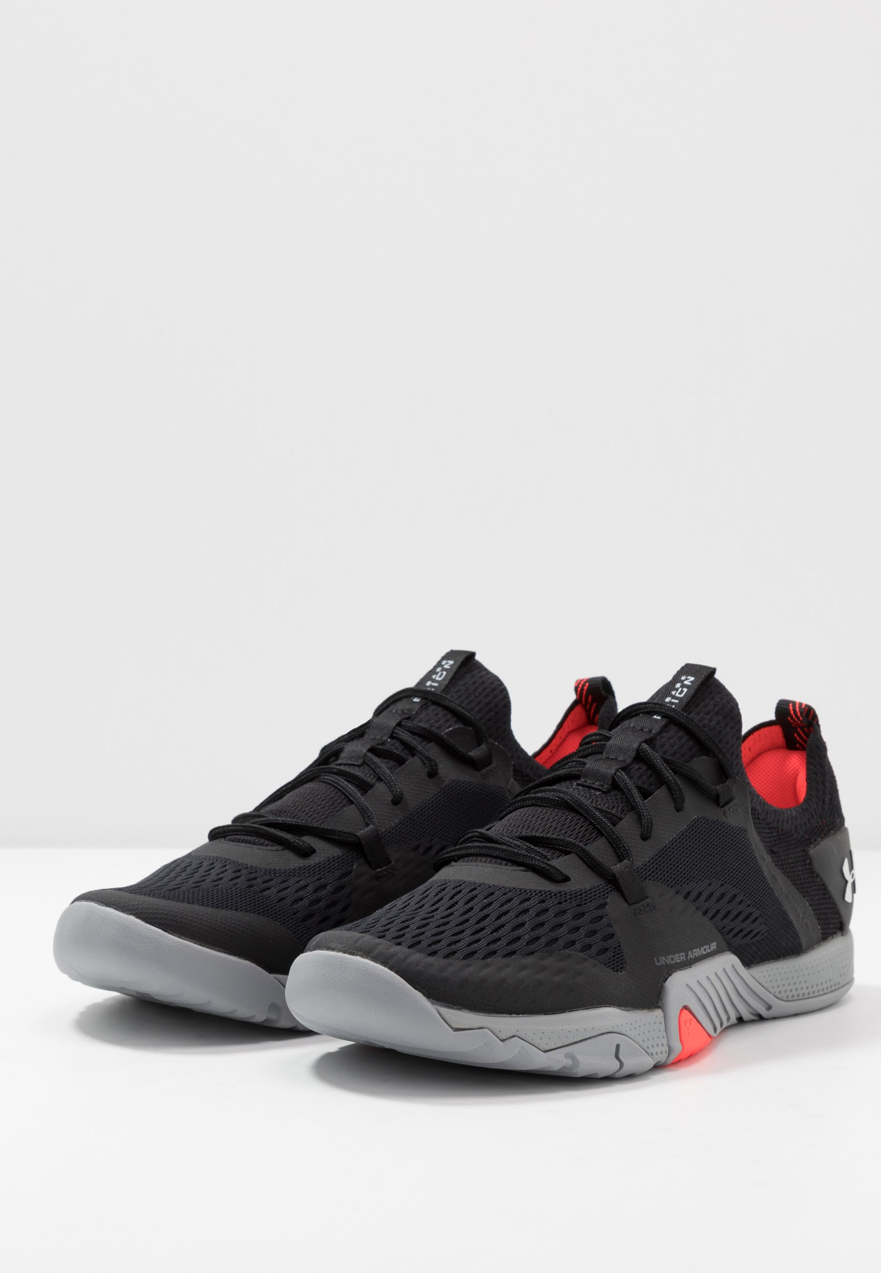 Under Armour TRIBASE REIGN 2 - Obuwie treningowe - black/steel/halo gray