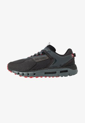 HOVR SUMMIT - Chaussures de running neutres - jet gray/pitch gray