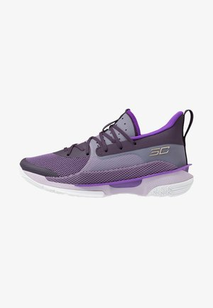 CURRY 7 IWD - Obuwie do koszykówki - tux purple/purple haze/purple pop