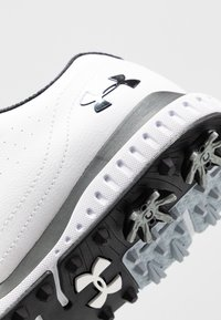 Under Armour - FADE RST 3 E - Golfové boty - white/black - 5