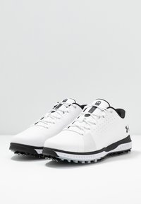 Under Armour - FADE RST 3 E - Golfové boty - white/black - 2