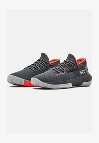 Under Armour - UA SC 3ZER0 III - Basketball shoes - pitch gray - 1
